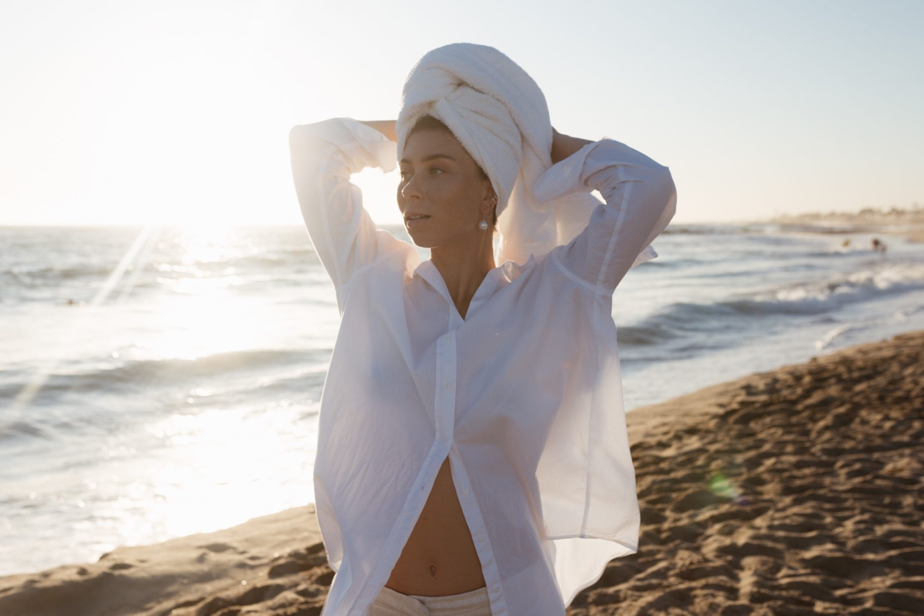 The Perfect White Blouse: The LASTING by VIKTORIA LOUISE - Bikinis & Passports