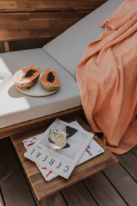 styling tips for small outdoor spaces - Bikinis & Passports
